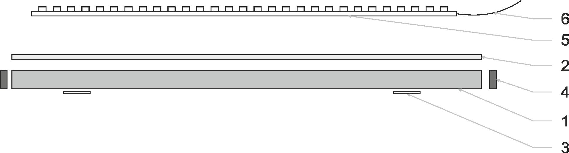 Schéma jednoduché led sestavy
