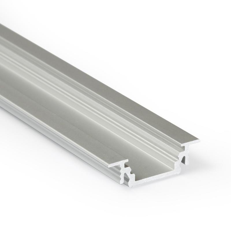 Vkládaný LED profil GROOVE10 hliník eloxovaný