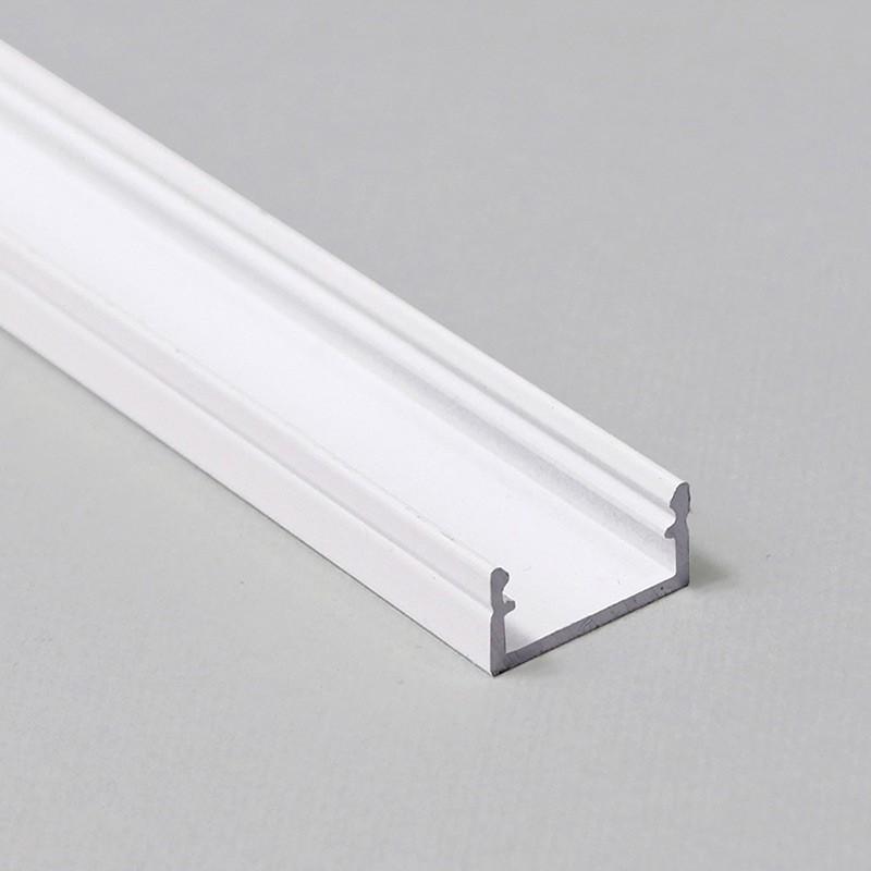 Profil WIRELI BEGTON12 J/S bílý komaxit 2m (metráž)