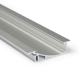 LED profil FLAT8 H/UX hliník elox l 2