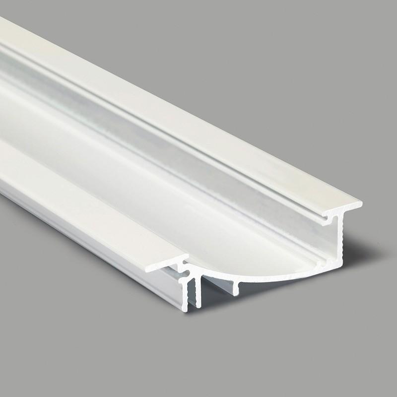 Profil WIRELI FLAT H/UX bílý komaxit 2m (Wireli31)