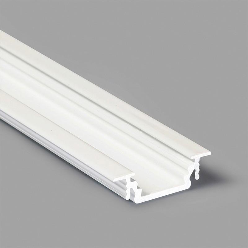 Vkládaný LED profil č.12 GROOVE BÍLÝ (bez krytky)