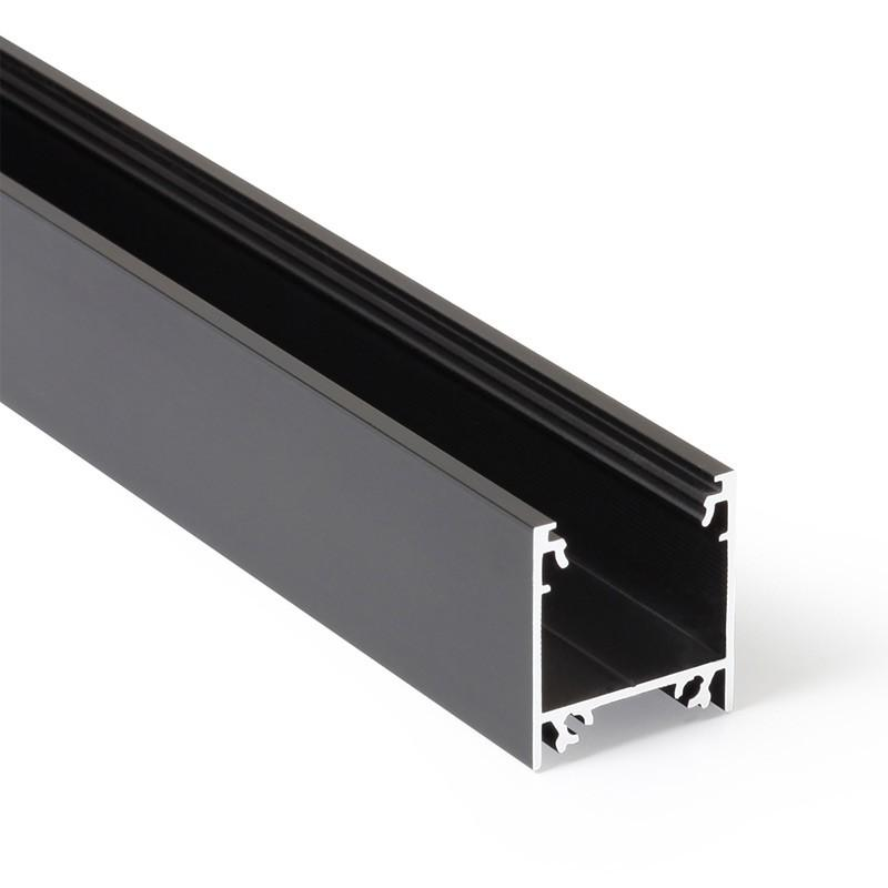 Profil WIRELI LINEA20 EF/TY černá anoda 2m (metráž)