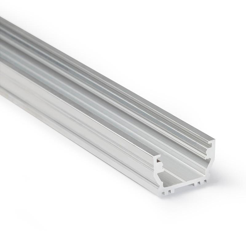 Profil WIRELI UNI12 BCD/U hliník surový 2000mm (metráž)
