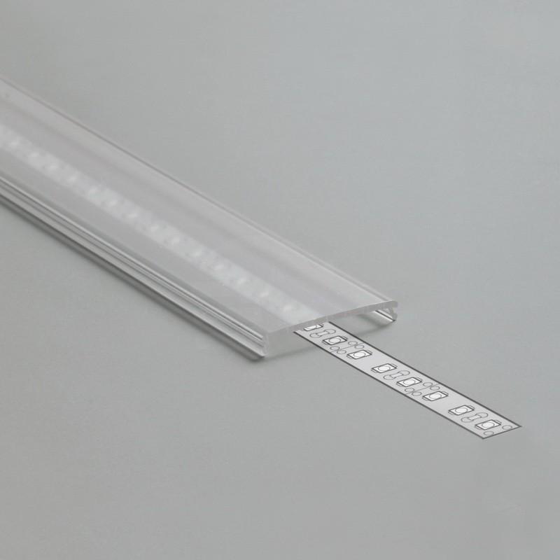Krycí lišta C9 klik mléčná (Vario) l 2m