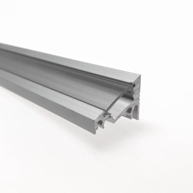 """Odřezek 20cm - LED profil CORNER10 BC/UX s difuzorem """"C"""" opál"""