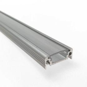 "Odřezek 20cm - LED profil SURFACE10 BC/UX s difuzorem ""C"" transparent"