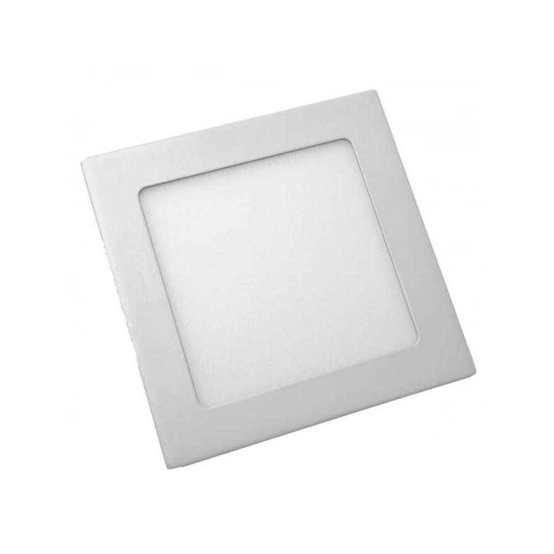 LED panel čtverec VT- 607 SQ 4863 6W WW   (teplá bílá)