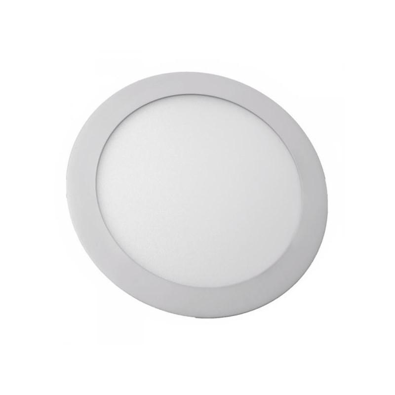 LED panel kulatý VT-1207 RD 4857 12W WW  (teplá bílá)