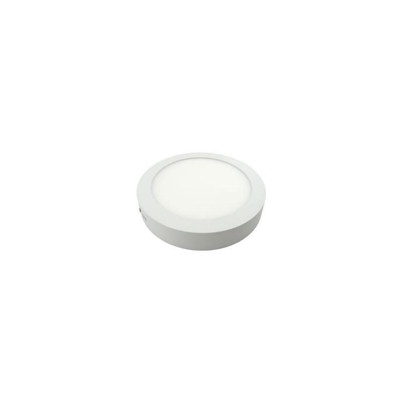 LED svítidlo stropní přisazené bílé 12W kruh bílá teplá 900 lm