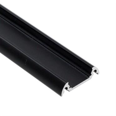 Profil WIRELI FINLANDIA BLACK hliník černá 22x5,5x2000mm (metráž)