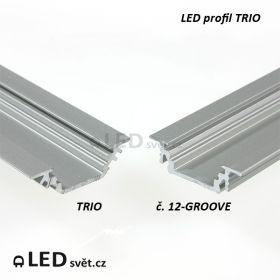 Srovnání 2 profilů - trio vs. groove
