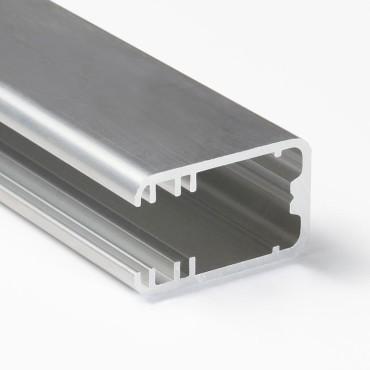 LED profil MIKRO-LINE12 J/- na sklo 8mm hliník elox.