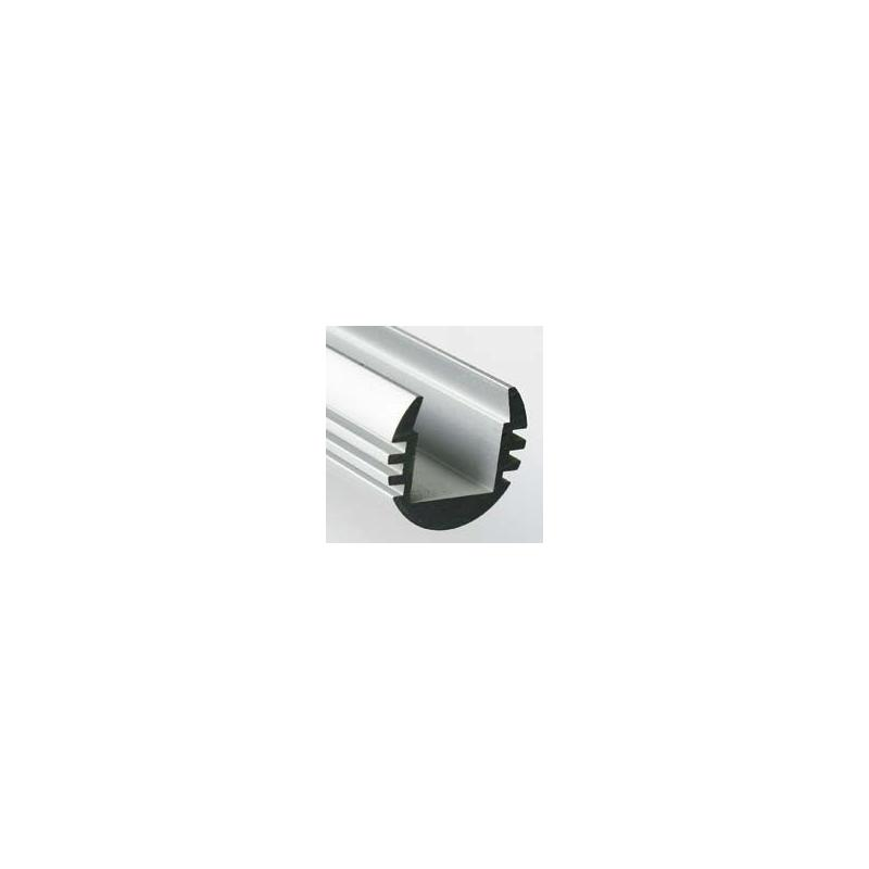 LED profil KLUS PDS4-O hliník anod. bez krycí lišty