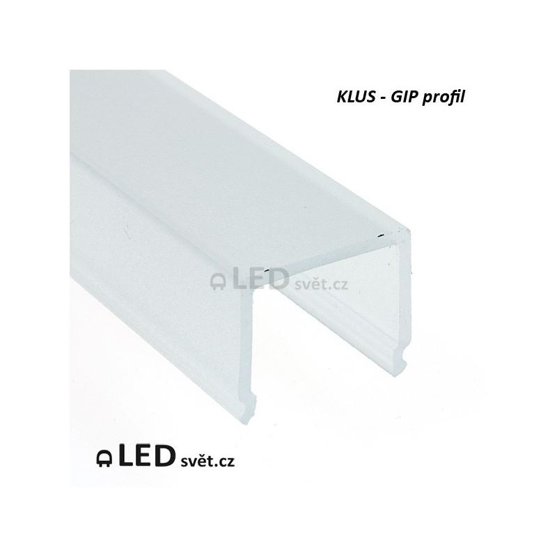 Krycí lišta KLUS GIP čtverec OPAL