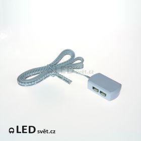 RGB-9 box 9A 4 výstupy 3x3A (box/drát) 2 m