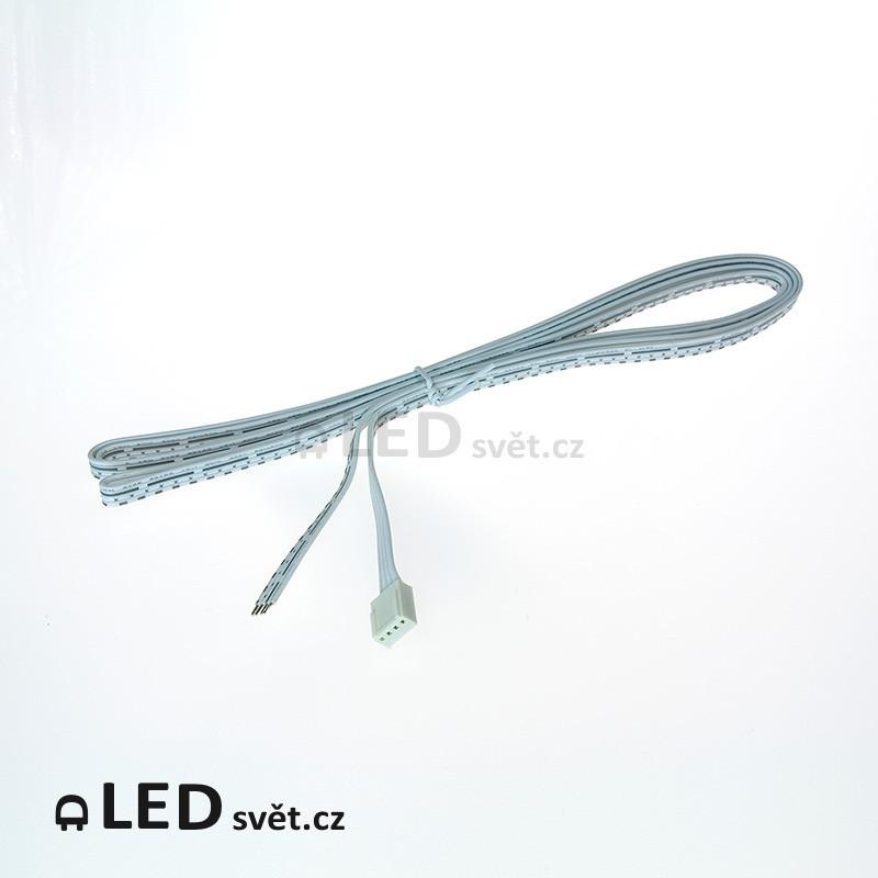 RGB-9 el.kabel 3x3A 4pin (vstup do patice/drát) 2 m