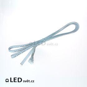 RGB-9 el.kabel 3x3A 4pin (samice/drát) 2 m