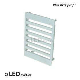 Koncovka KLUS BOX profilu (1ks)
