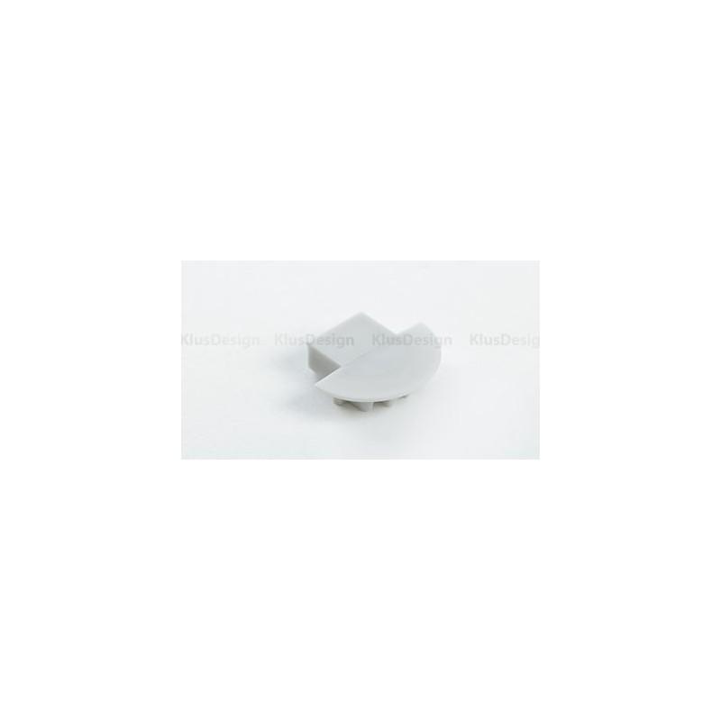 Koncovka KLUS MICRO - K  s otvorem pro kabel (1 ks)