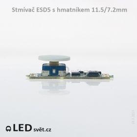 Stmívač ESD5 s hmatníkem