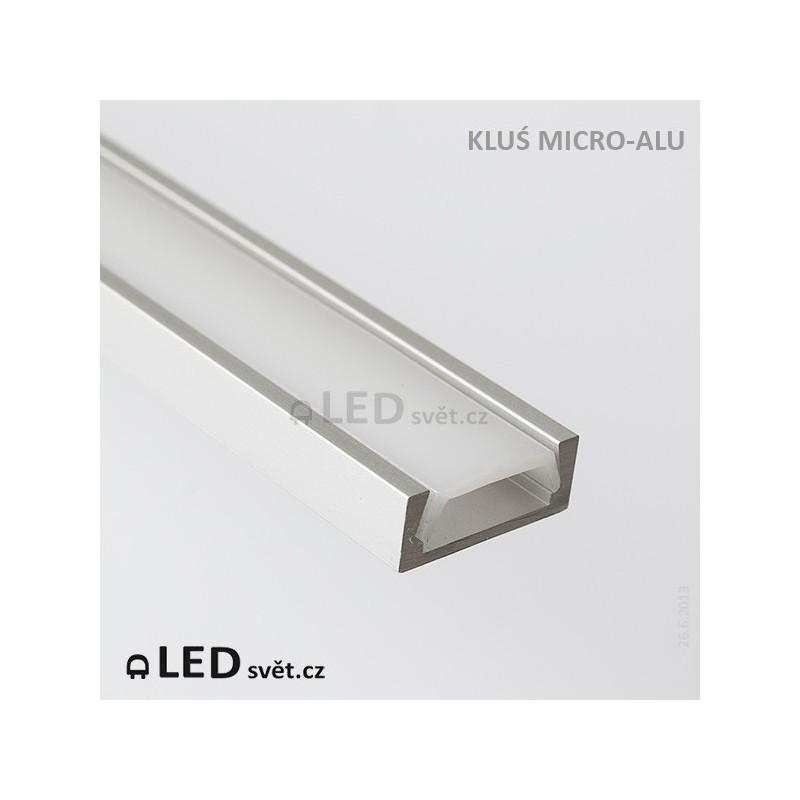 LED profil KLUS MICRO-ALU al. anod. l 2
