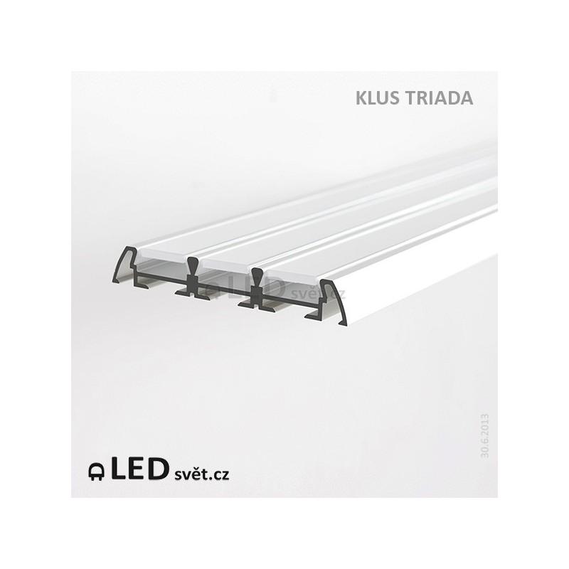 LED profil KLUS TRIADA al. anod. (bez krytek) l 2