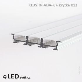 LED profil KLUS TRIADA-K...