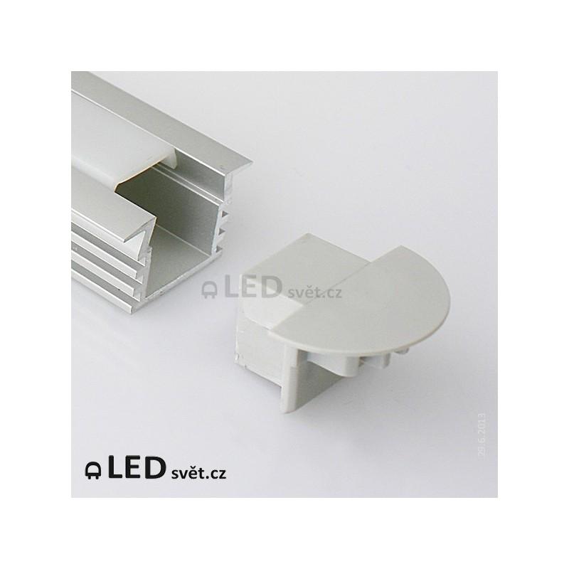 Koncovka KLUS PDS4-K s otvorem pro kabel (1ks)