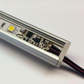 Stmívač pro LED pásky 12/24V do profilů dotykový