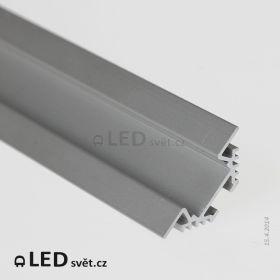 Rohový LED profil PAC-ALU (bez krytky)