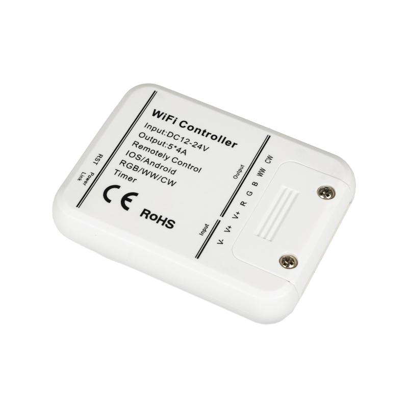 SMART WiFi LED ovladač RGB+WW+CW ID KÓD: 06330
