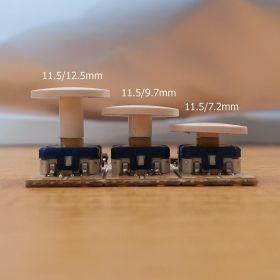 Porovnání výšky hmatníků pro stmívače L4ESD5
