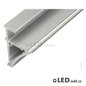 Lišta pro LED WIRELI GLASS KVADRAT 6/8 (30X45mm)