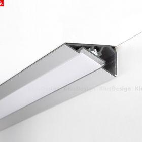 LED profil KLUS LOC-30 al. anod. (bez krytky) l 2