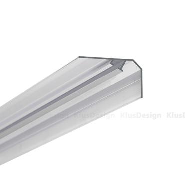 Led profil KLUS LOC-30 (bez krytky)