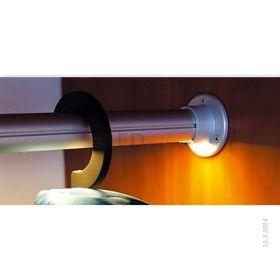 Led profil 28 - šatní ovál - osvětlení šatní skříně