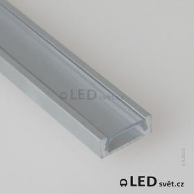 LED profil MIKRO-UP anodizovaný