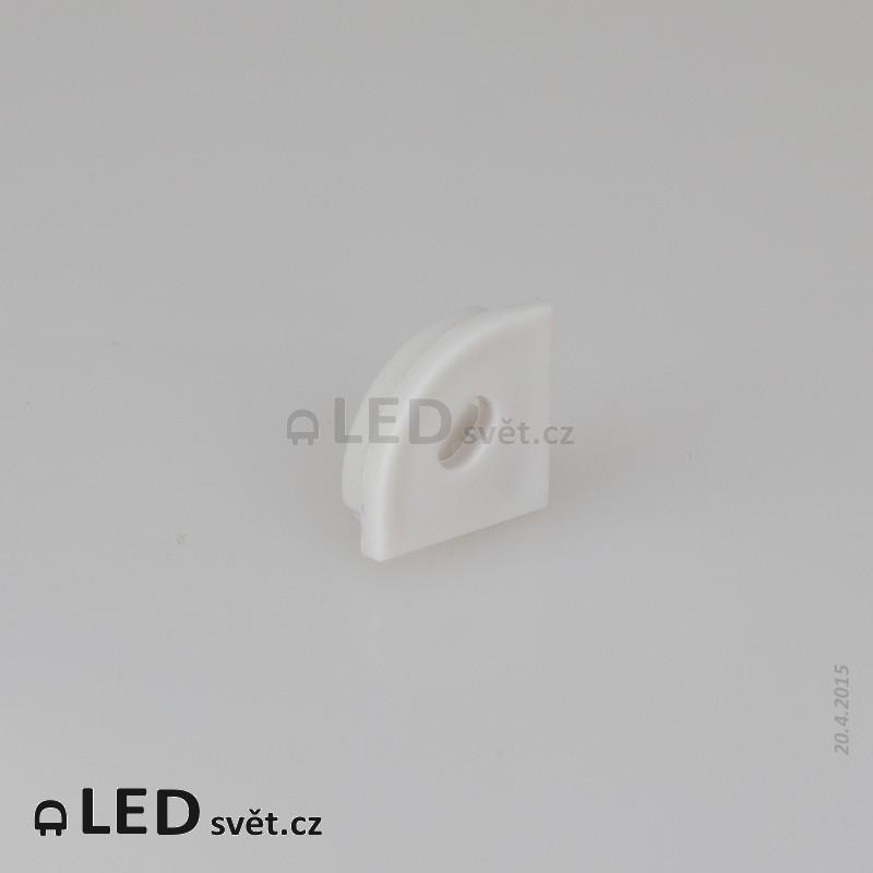 Záslepka s otvorem profilu Corner 16 C - plast