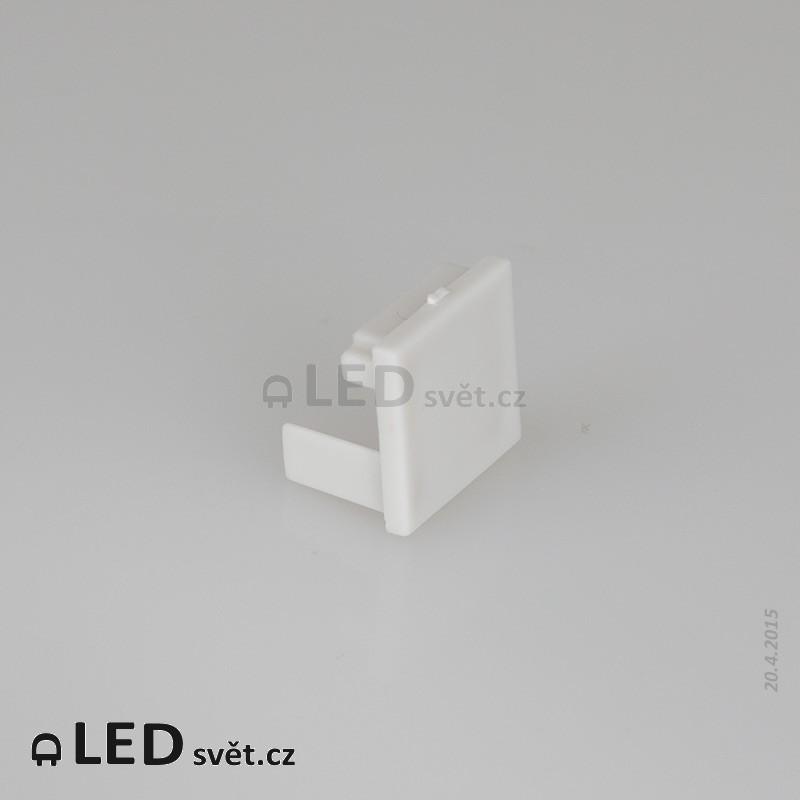 Záslepka profilu Corner 16 L - plast