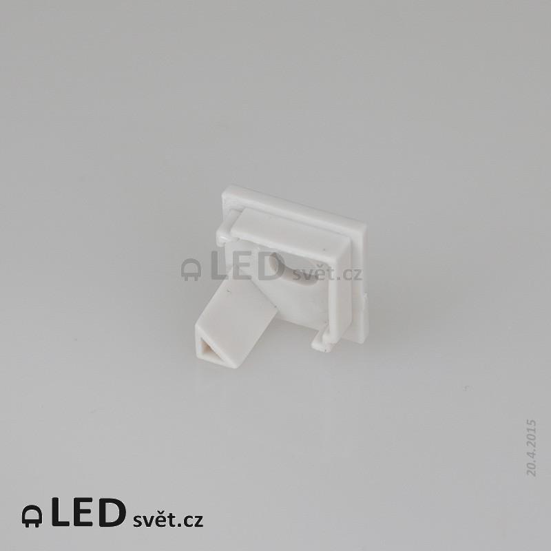 Záslepka s otvorem profilu Corner 16 L - plast