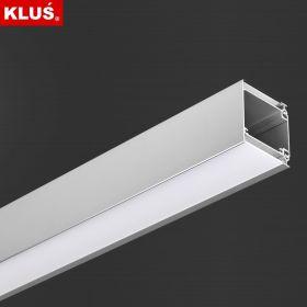 LED profil KLUS IDOL al. anod. (bez krytky) l 2