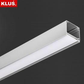 LED profil KLUS IKON al. anod. (bez krytky) l 2