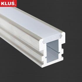 LED profil KLUS l HR LINE al. surový (bez krytky) l 2