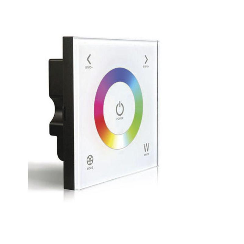 L-TECH D4 - Dotykový ovladač RGBW na stěnu