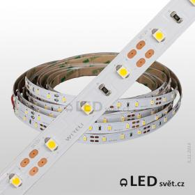 Led pásek Epistar SHB 2835 60ks 14.4W 1440-1560lm/m  12V NW - neutral |5cm