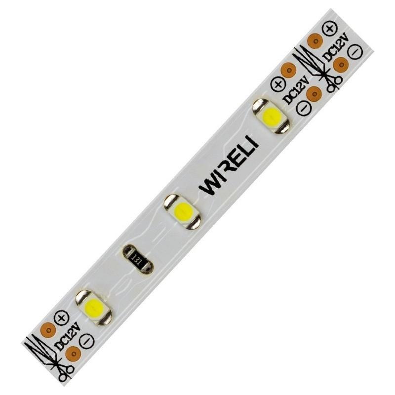 LED pásek WIRELI 3528 60 4.8W/m 12V (studená bílá)