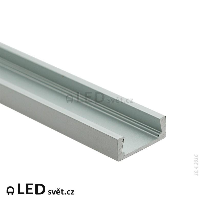 LED profil MIKRO UP anodizovaný