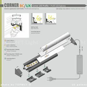 Profil W60 CORNER BC/UX al. anod.