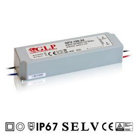 GPV-100-24 - Zdroj napětí 24V 4A 100W